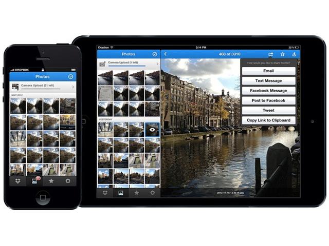 Dropbox : une nouvelle version pour iOS