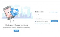 Dropbox : lancement d'une application pour Windows 8