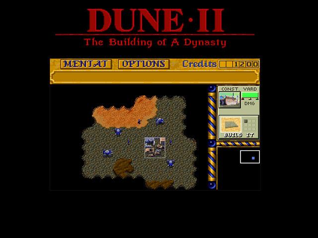 Jouer à Dune 2 dans le navigateur web