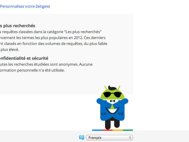 """Google Zeitgeist : un chouette """"easter egg"""" en l'honneur du Gangnam Style"""