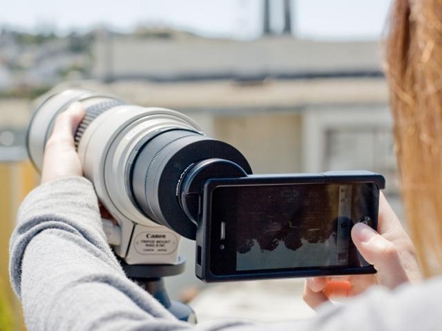 Monter des objectifs Canon / Nikon sur un iPhone, c'est possible !