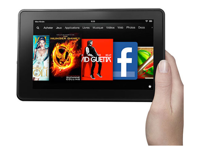 Transformer son Kindle Fire en Nexus 7