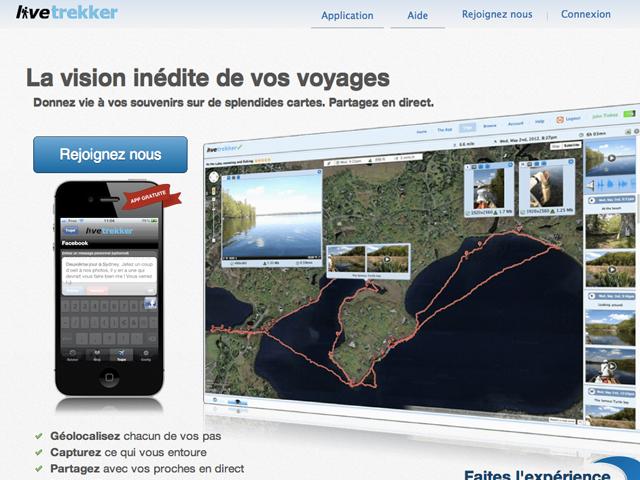 LeWeb'12 : LiveTrekker, l'application incontournable pour les voyageurs