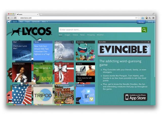 Lycos : un retour en 2013