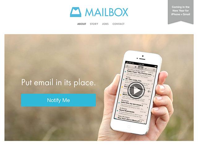 Mailbox veut révolutionner l'email sur iPhone