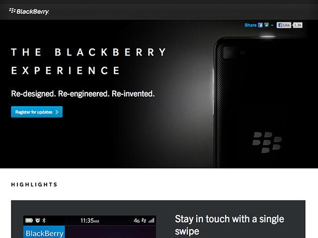 RIM : un petit teaser pour préparer le lancement de BlackBerry 10