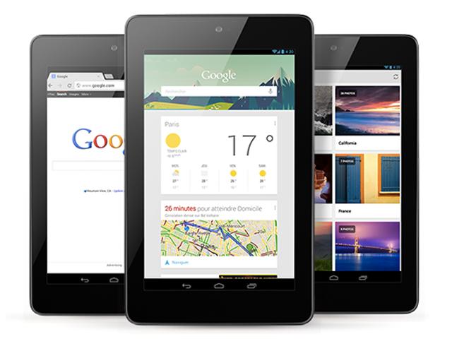 Les spécifications de la Nexus 7 à 99$ en balade sur le web ?
