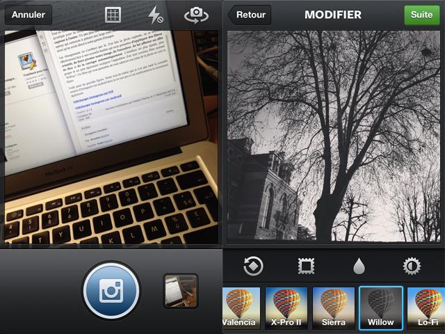 Instagram : une mise à jour qui apporte quelques nouveautés