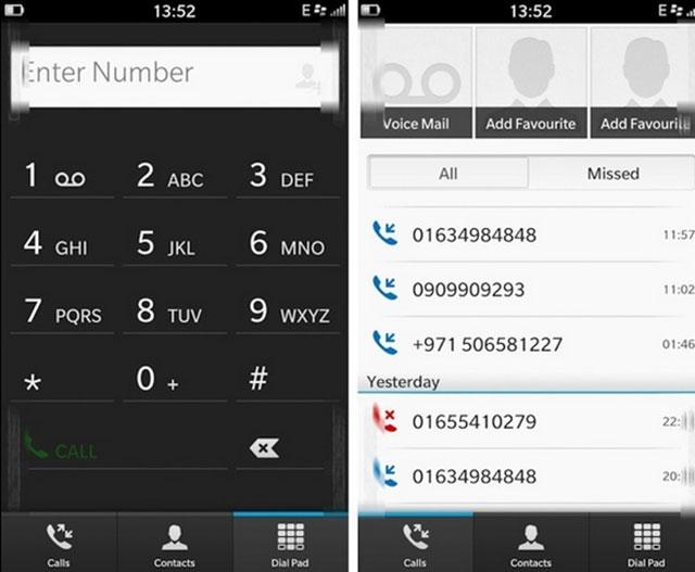 BlackBerry 10 : le centre d'appel