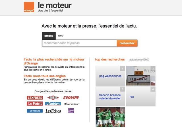 La presse française lance un concurrent à Google Actualités