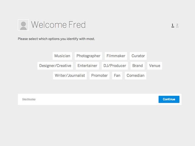 MySpace : la définition du profil