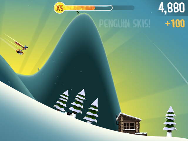 Ski Safari : des débuts difficiles