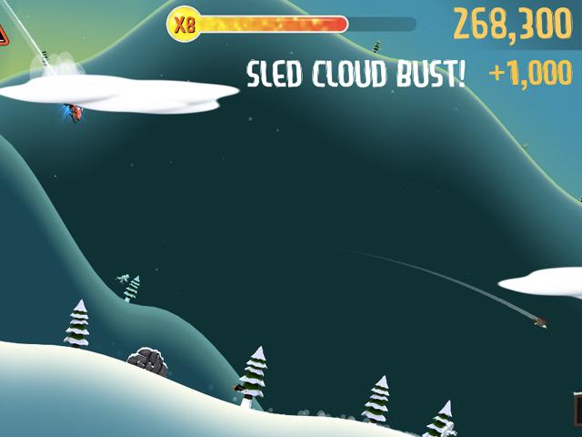 Ski Safari : des actions contre des bonus