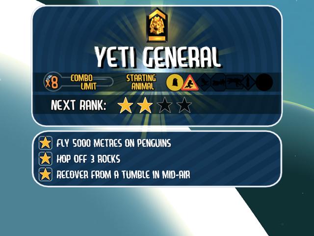 Ski Safari : Yeti General