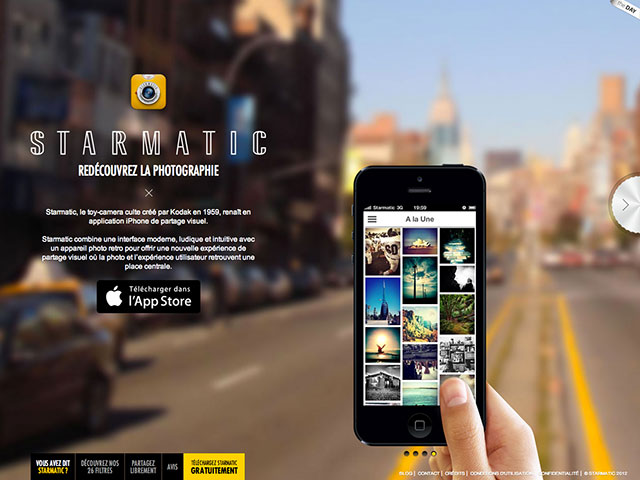 Starmatic iPhone