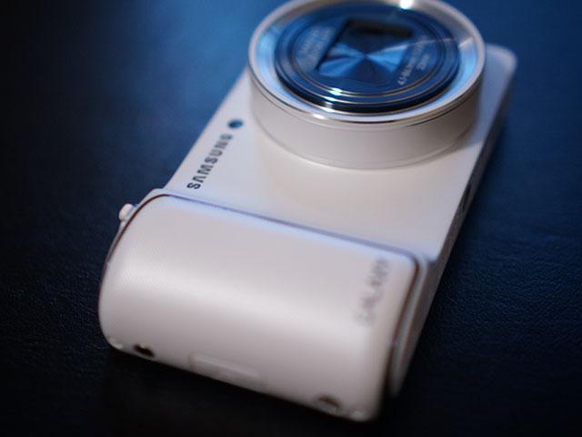 Samsung Galaxy Camera : vue de face