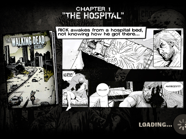 The Walking Dead Assault : tout commence par le comic