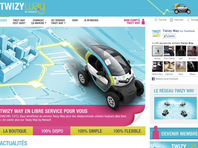 Twizy Way, l'Autolib by Renault
