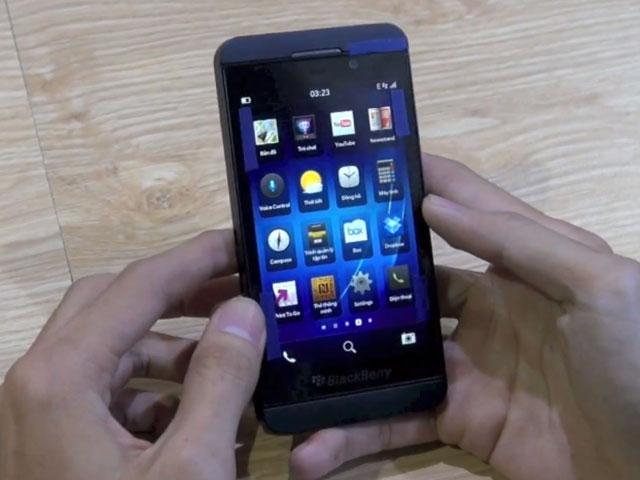 Une vidéo du BlackBerry 10 L-Series en action