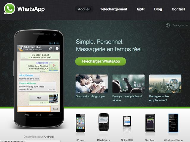 Facebook pourrait racheter Whatsapp