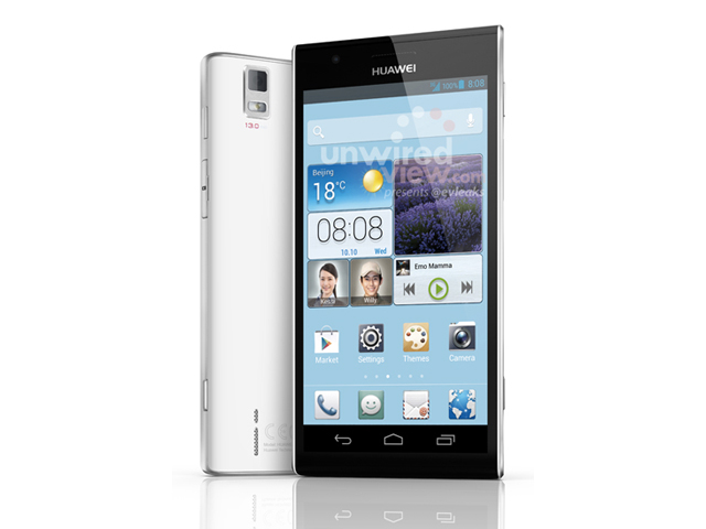 Huawei Ascend P2 : une première image en attendant le MWC
