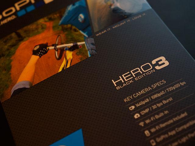"GoPro Hero 3 ""Black Edition"" : une jolie boite"