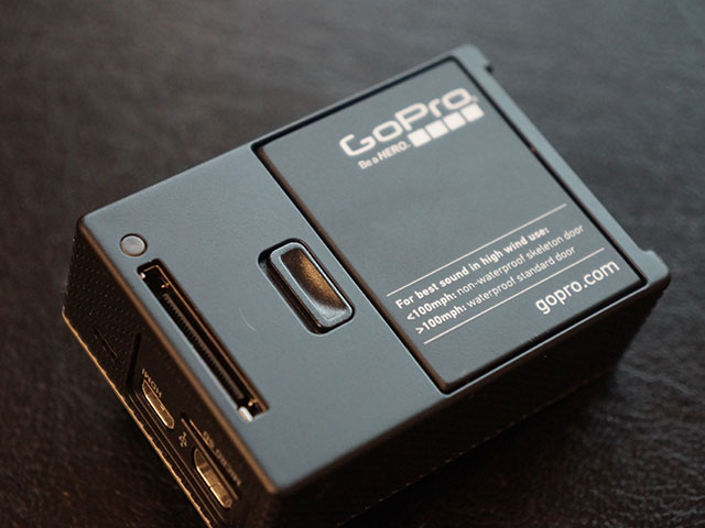 "GoPro Hero 3 ""Black Edition"" : plus proche"