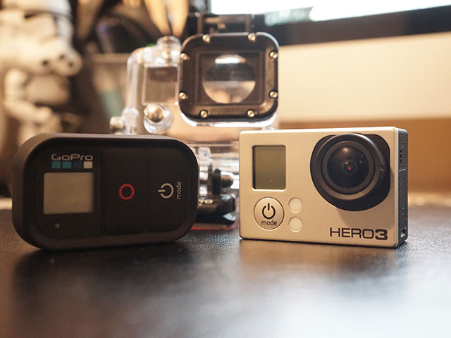 "GoPro Hero 3 ""Black Edition"" : photo de famille"
