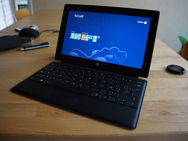 Microsoft Surface RT : en mode netbook