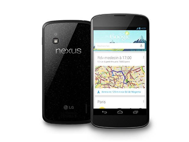 Nexus 4 : de retour en France dans la journée !