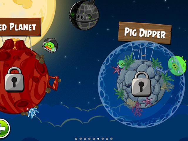 Angry Birds Space : 30 nouveaux niveaux sur iOS & Android