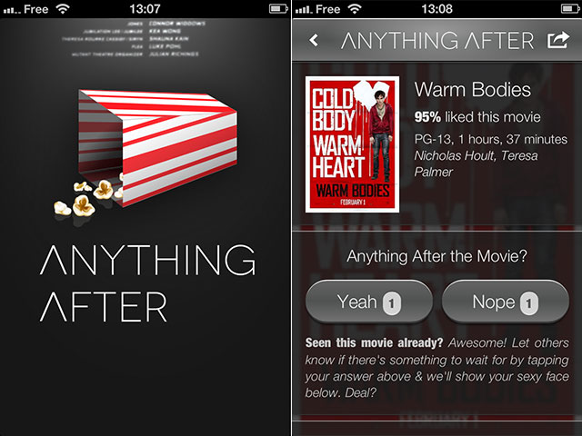Anything After, pour ne plus louper le bonus d'un film (iOS)