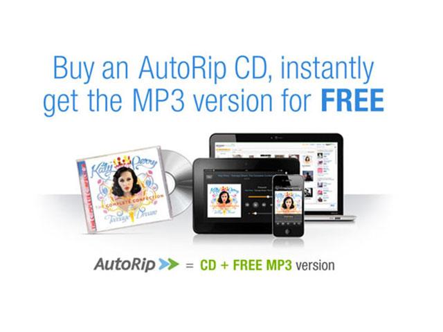 AutoRip, quand Amazon offre les MP3 de tous les CD achetés