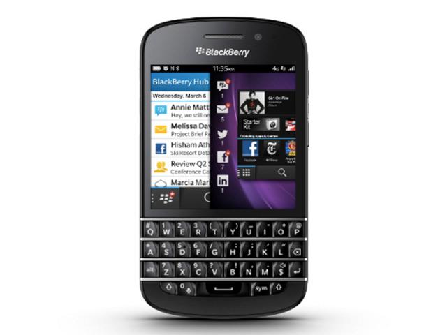 BlackBerry Q10 : les spécifications officielles