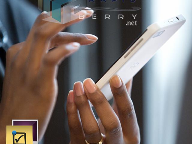 BlackBerry Z10 : en blanc, c'est joli aussi