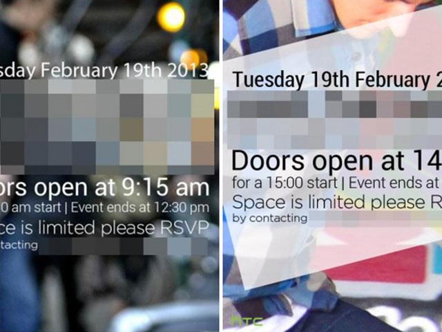 HTC : un évènement pour le 19 février, avec présentation du M7 ?