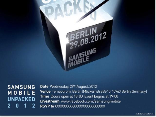 Samsung Galaxy S4 : la conférence pour le 22 mars ?
