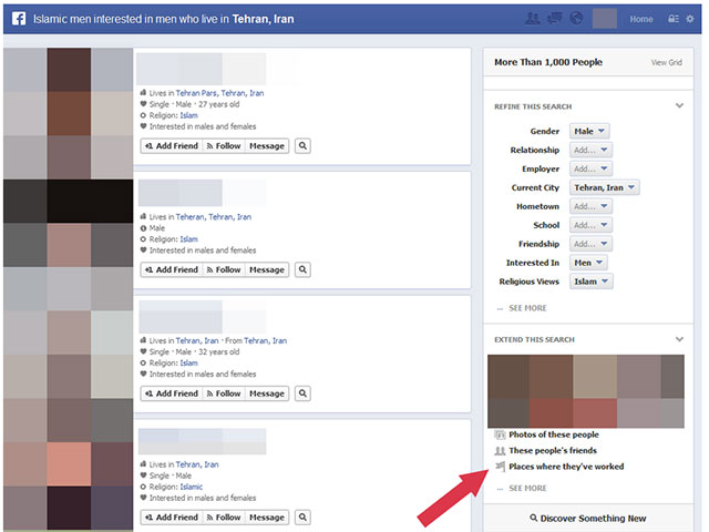 Facebook Graph Search : les premiers débordements