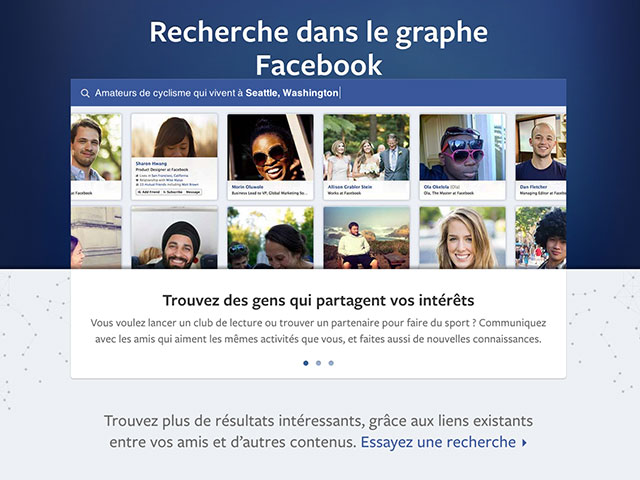 Facebook Graph Search : le moteur de recherche de Facebook