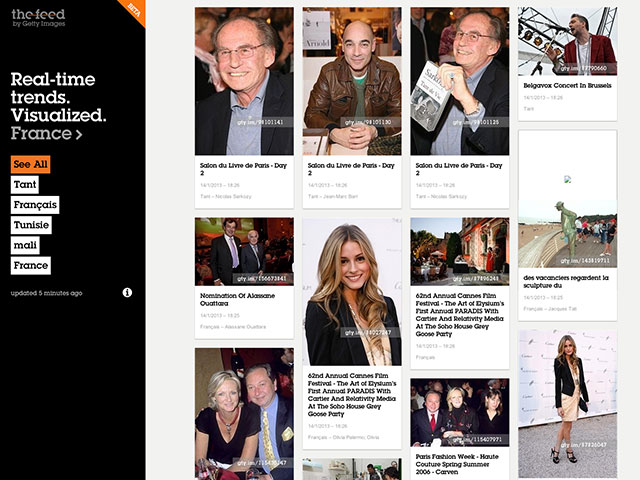 "Getty Images lance The Feed et goûte aux plaisirs du ""social media"""