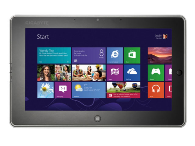 Gigabyte S1082 : un Tablet PC de 10.1 pouces sous Windows 8