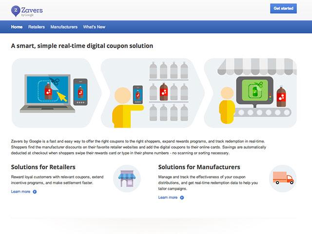 Google Zavers : tes coupons sur ton smartphone