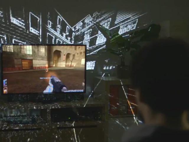 IllumiRoom : ton salon comme écran de télévision