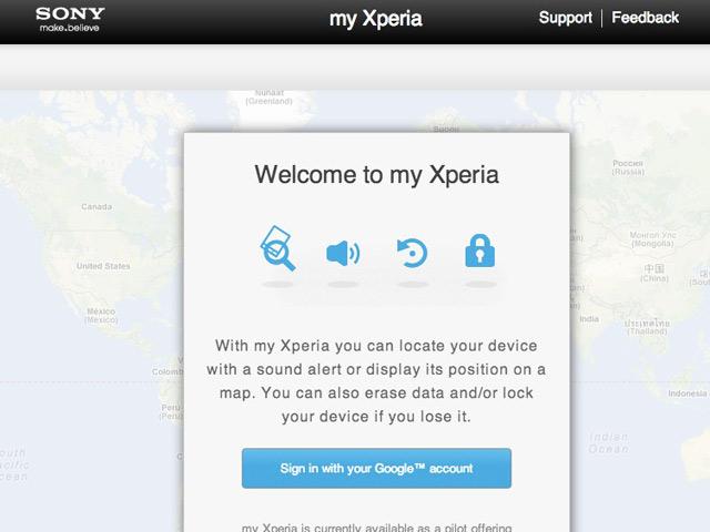 My Xperia : sécuriser son Xperia by Sony