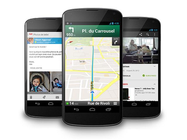 Où l'on commence à parler du Nexus 5 et de la Nexus 7.7