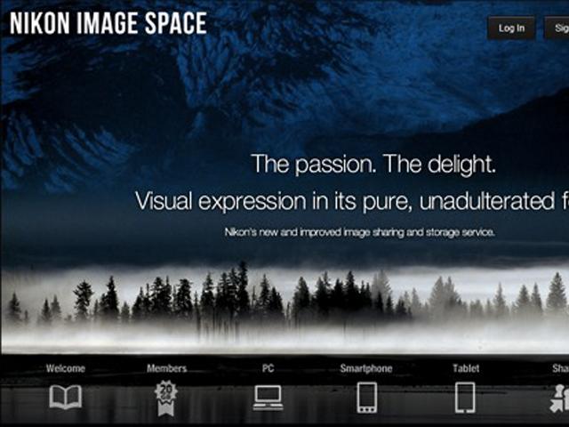 """Nikon Image Space : Nikon dans le """"cloud"""" !"""