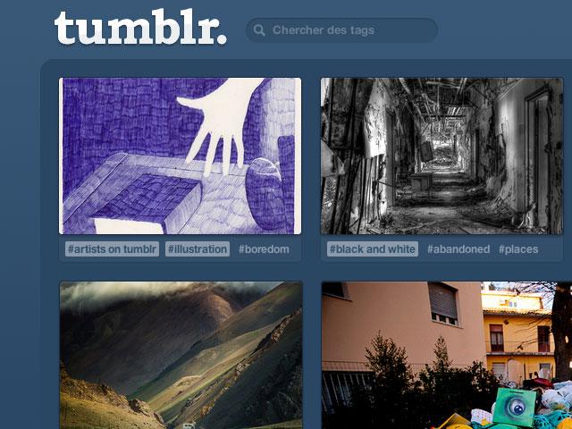 """Tumblr : un nouveau """"dashboard"""" en cours de déploiement"""