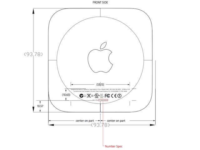 Apple TV : un nouveau modèle plus petit et avec une puce A5X