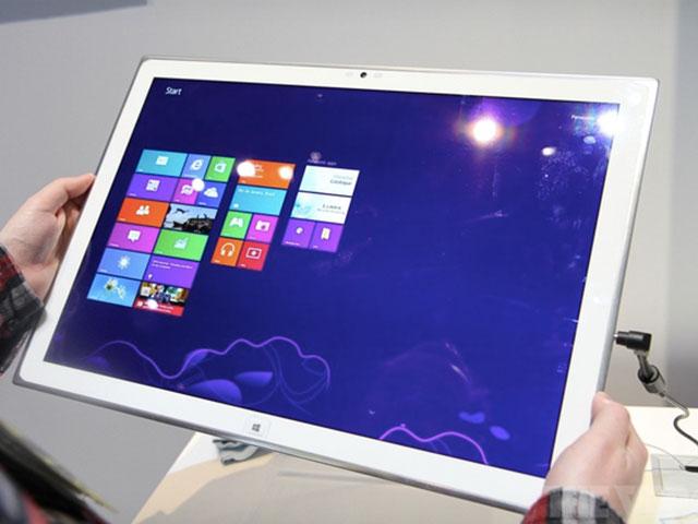Panasonic : une tablette 20 pouces avec écran UltraHD