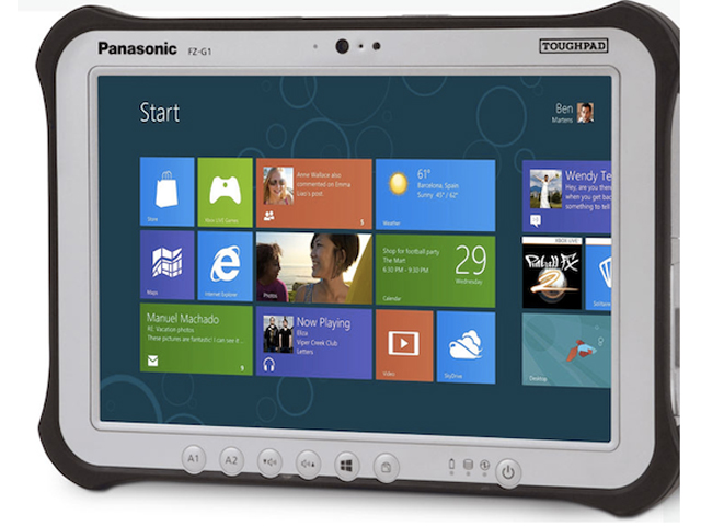 Panasonic : deux tablettes sinon rien
